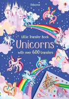 Usborne - Little transfer books unicorns