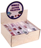 Mineral and Gel Collection Display Box (Assorted)