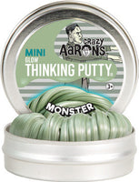 "Crazy Aaron's - Monster Glow Thinking Putty 2"" tin (Halloween)"