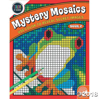 Mindware Colour By Numbers - Mystery Mosaic Book 2