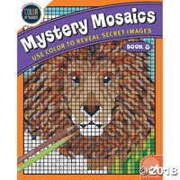 Mindware Colour By Numbers - Mystery Mosaic Book 8