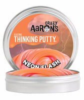 "Crazy Aaron's - Neon Flash 2"" tin Electric Thinking Putty"