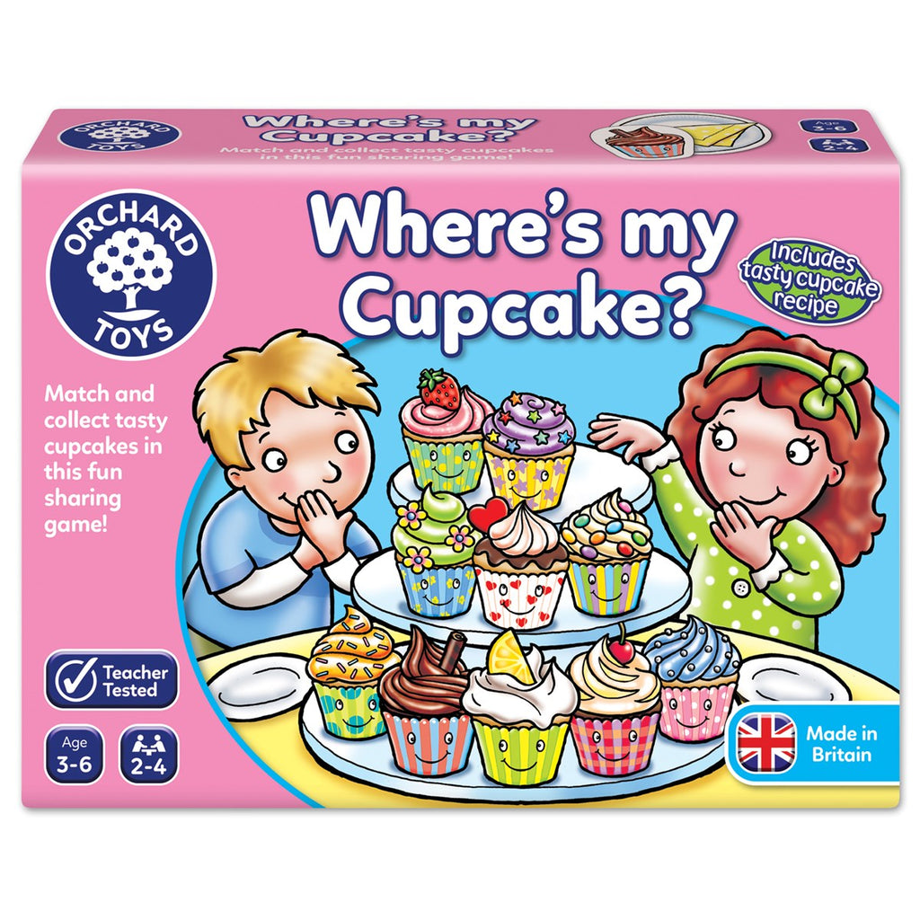 Orchard Toys- Where's My Cupcake Game - Dreampiece Educational Store