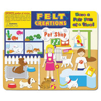Pet Shop Felt Creations 51 Pieces
