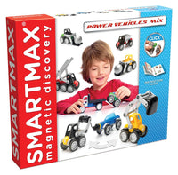 SmartMax - Power Vehicles Mix (25 Pieces)