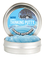 "Crazy Aaron's - Spring Showers Sparkle Thinking Putty 2"" tin"