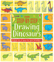 Usborne Step by Step Drawing Dinosaurs