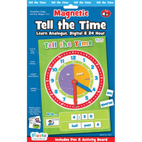 Fiesta Craft - Magnetic Tell the Time Pack