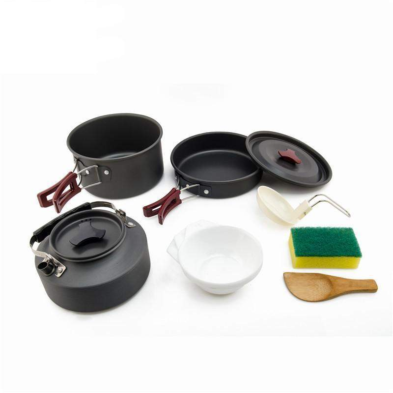 Complete Camping Cookware Set - Addictive Adventure
