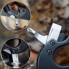 Multi-Function 5 In 1 Carabiner