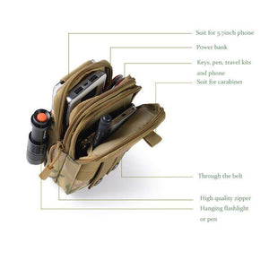 Utility Tactical Pouch Bag - Addictive Adventure