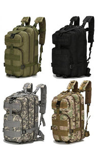 1000D Nylon Tactical Backpack Waterproof, 28L, Great for Camping Hiking Fishing Hunting