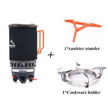 Gas Burner Camping Stove System 1400ML with Heat Exchanger