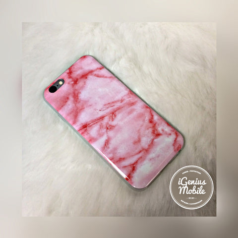 SALE - Pink Marble Case