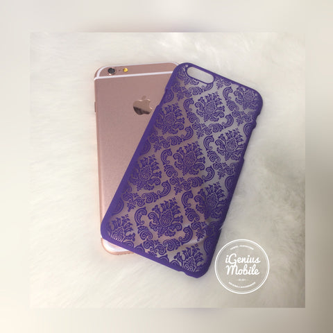 SALE - Purple Damask Case
