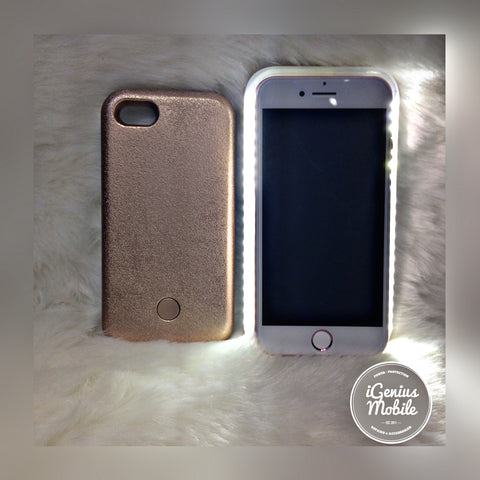 SALE - Gold Selfie Light Case