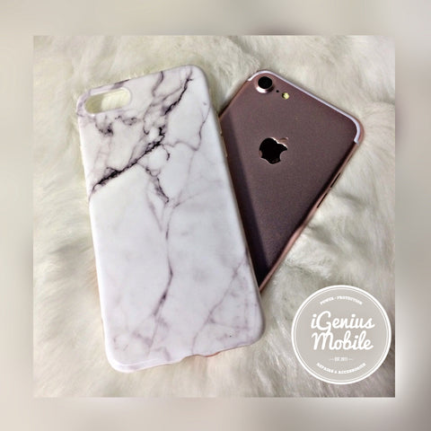 SALE - White Marble Case