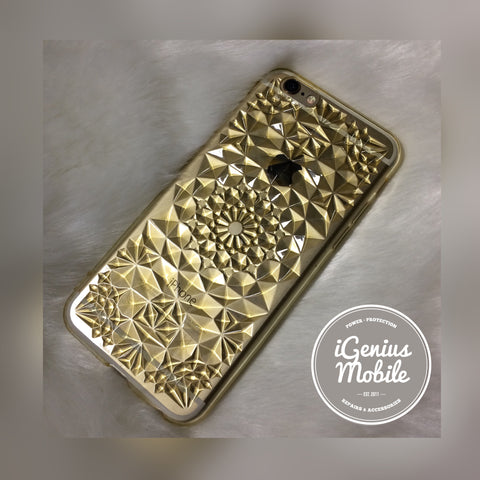SALE - Crystal Case Gold
