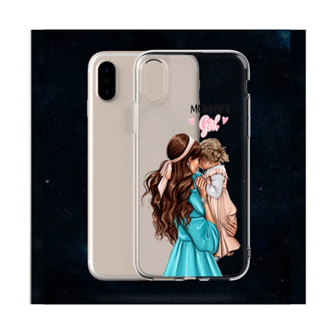 Mommy's Girl Transparent Case