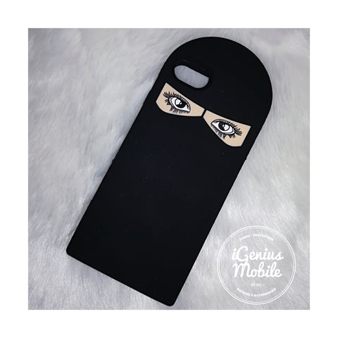 SALE! Hijabi Case Eyes Open (Silicone)
