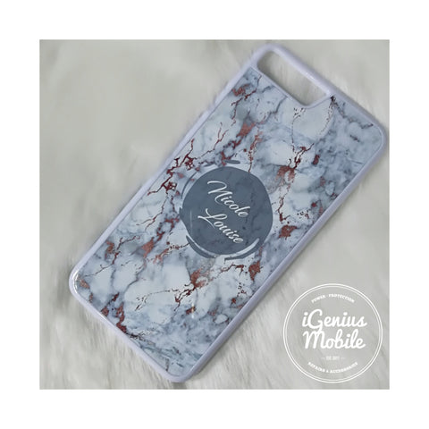 Rose Gold Marble Personalised Case 2