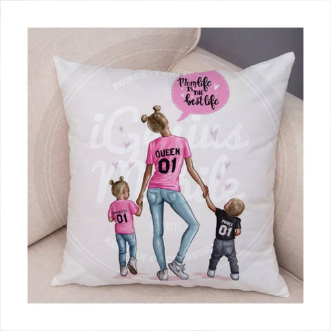 NEW! Pillowcase - Mom life is the best life