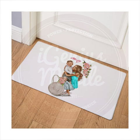 NEW! Floor mat - #momlife