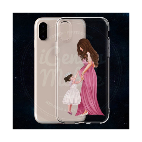 Princess Mama (2) Transparent Gel Case