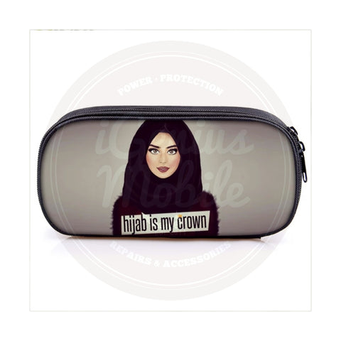 NEW! Make Up Cosmetic Case - Hijab is My Crown