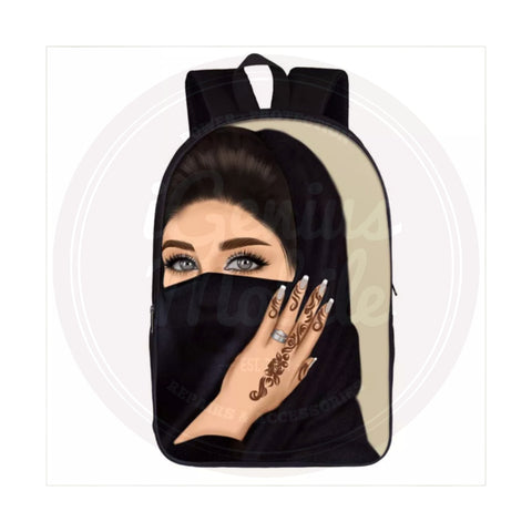 NEW! Backpack - Hijabi