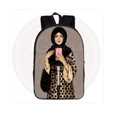 NEW! Backpack - Hijabi Selfie