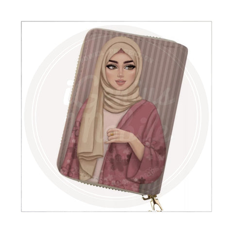 NEW! Passport Wallet Holder - Hijabi Fashion