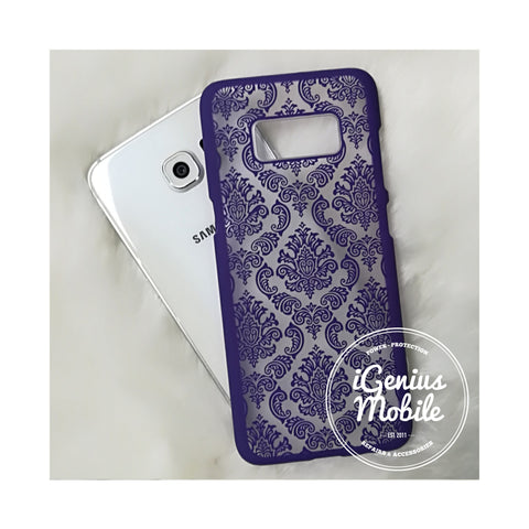 Damask Case Purple