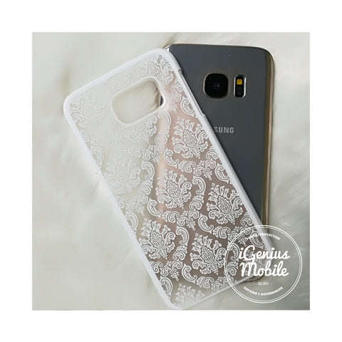 Damask Case White
