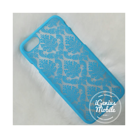 Damask Case Light Blue