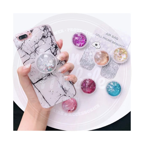 Glitter Liquid Pop Socket