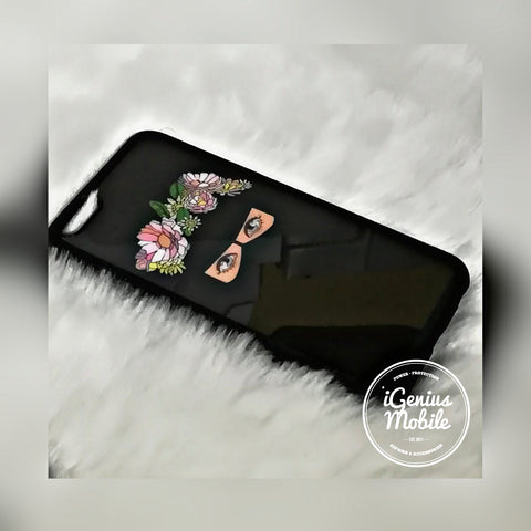 Hijab Case Mixed Front Flower