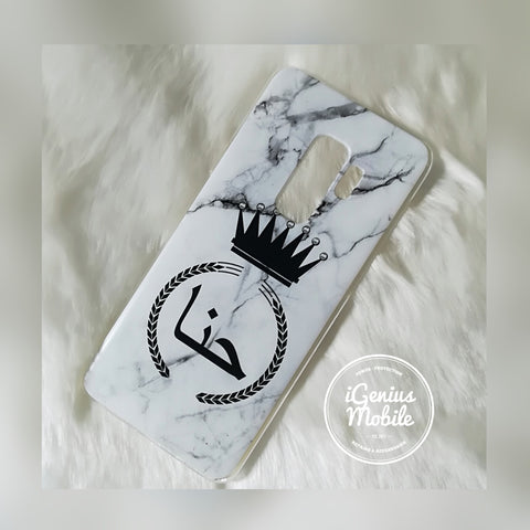 Arabic Marble Queen Personalised Case