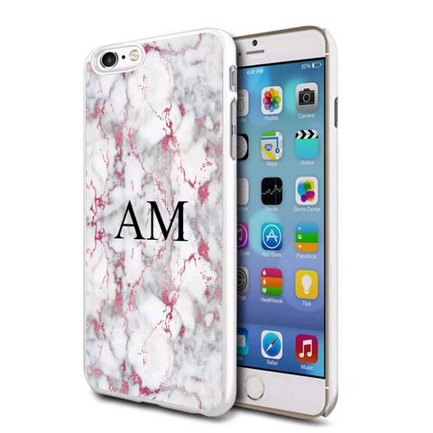 Pink Marble Personalised Case