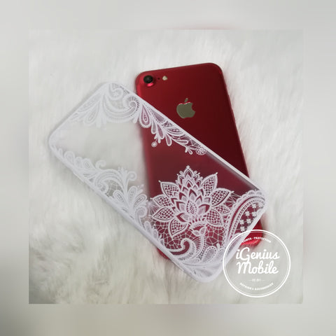 SALE - Henna Lace Case (White)