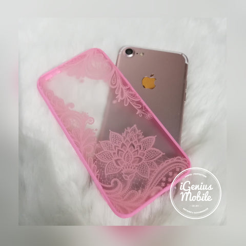 SALE - Henna Lace Case (Pink)
