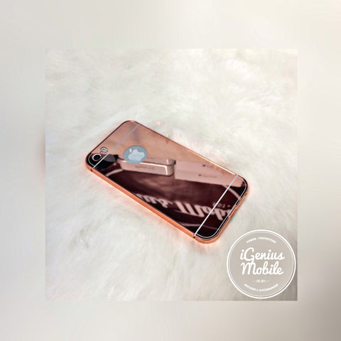 Aluminium Mirror Case Rose Gold