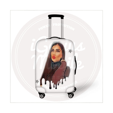 NEW! Suitcase Cover - My Emoji