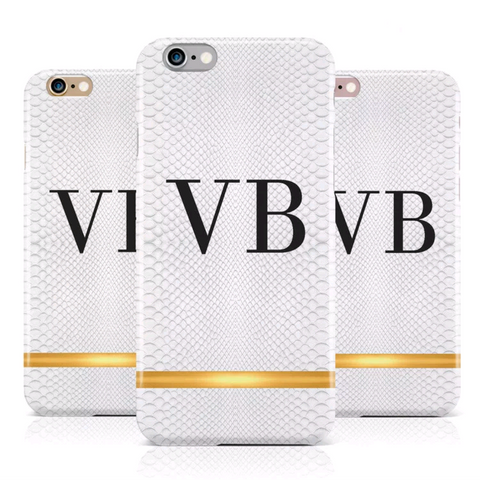 Faux Snakeskin Personalised Case