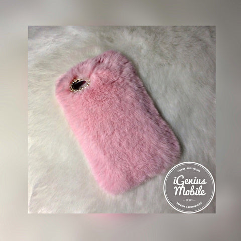 Furry Case Pink