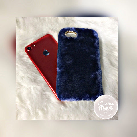 Furry Case Blue
