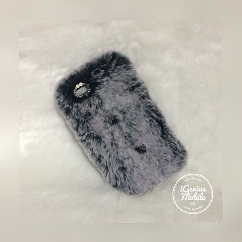 Furry Case Grey