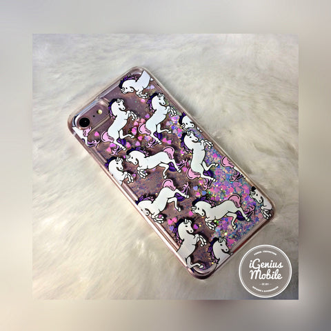 Unicorn Glitter Case