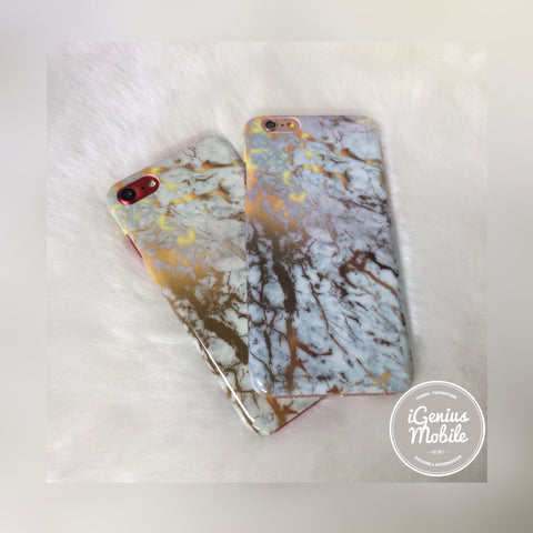 Marble Case Gold Chrome