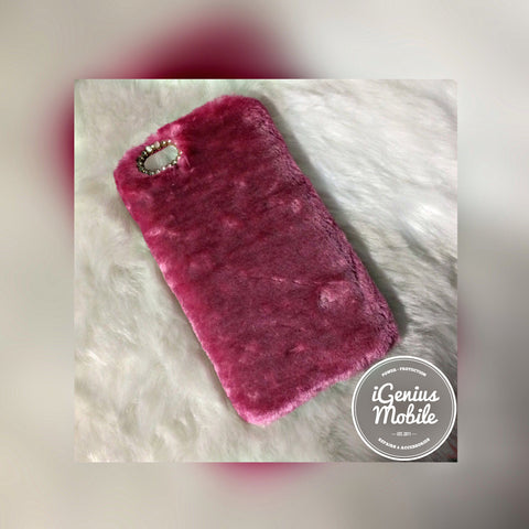 Furry Case Hot Pink